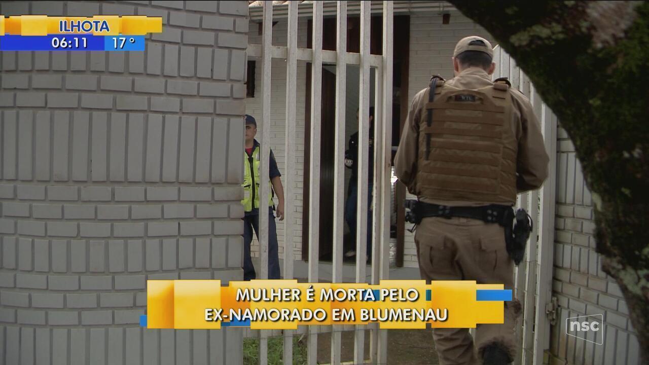 Mulher é assassinada com tiro na cabeça em Blumenau