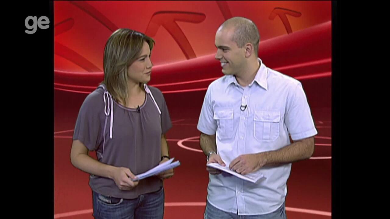 Fernanda Gentil e Lucas Gutierrez se reencontrarão no Esporte Espetacular