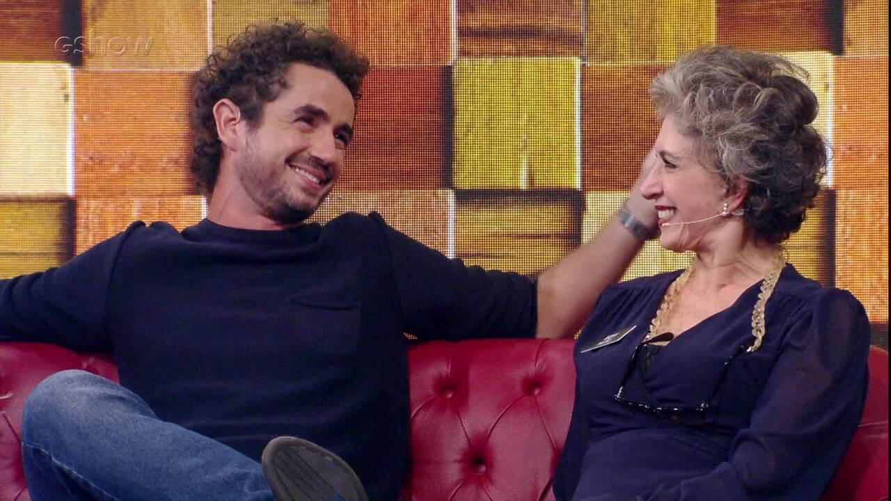 Felipe Andreoli conta que travou quando entrevistou Guga