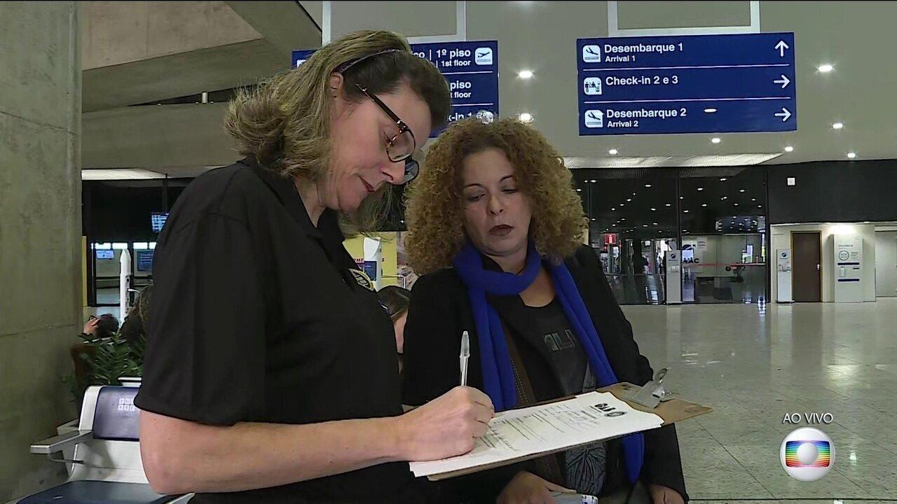 OAB e entidades de defesa do consumidor fiscalizam aeroportos