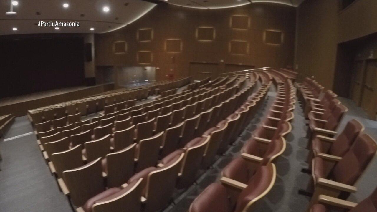 Parte 2: Apresentador também visita o Teatro Municipal de Boa Vista