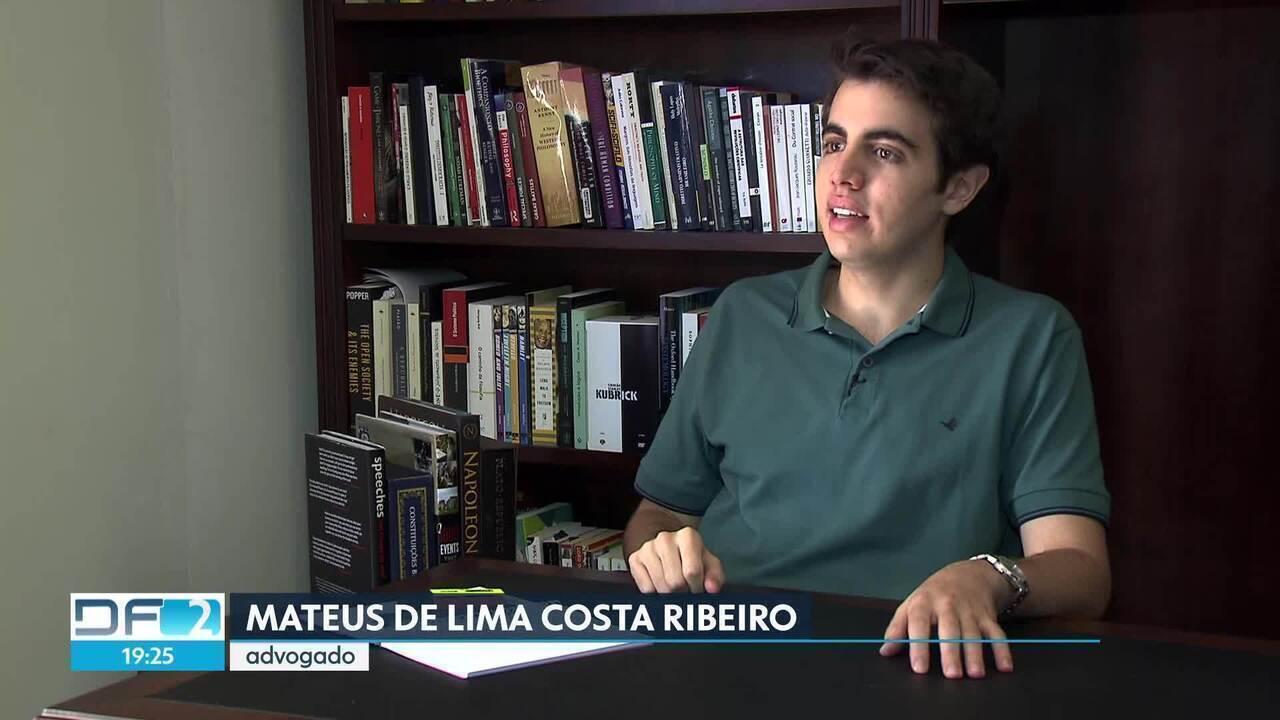 Brasiliense é o advogado mais jovem do país