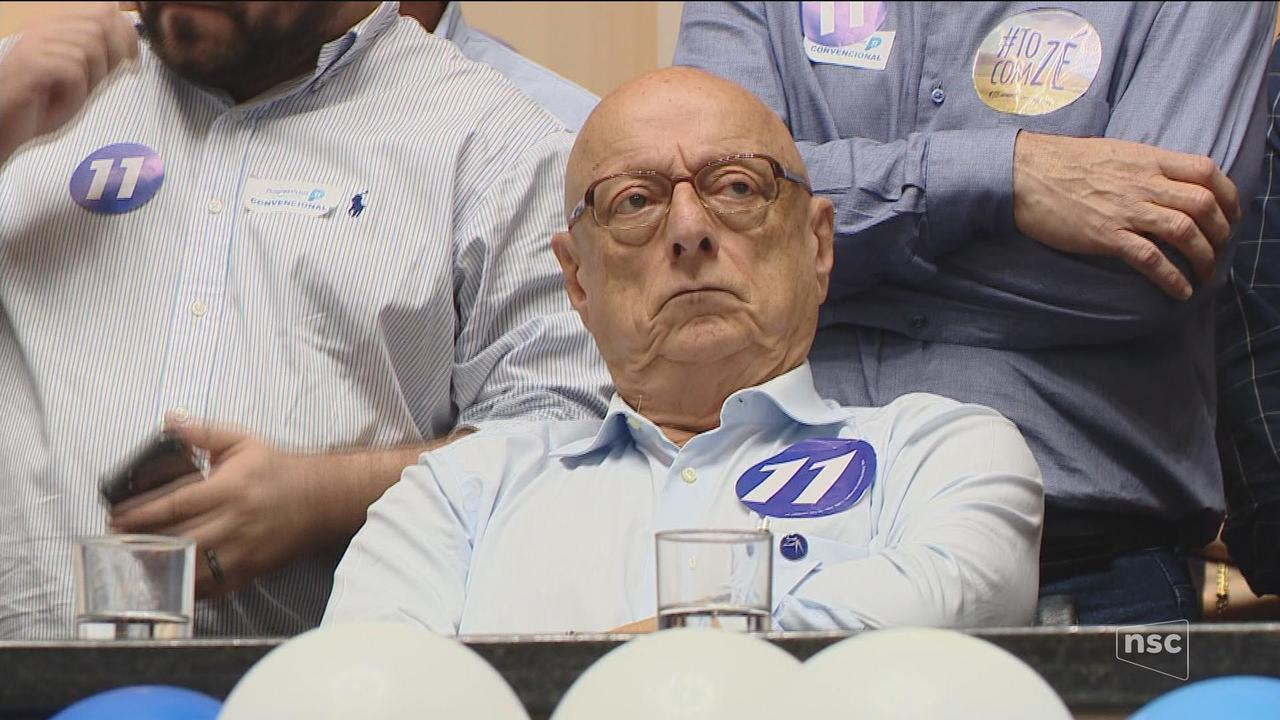 PP confirma candidatura de Esperidião Amin ao governo de SC