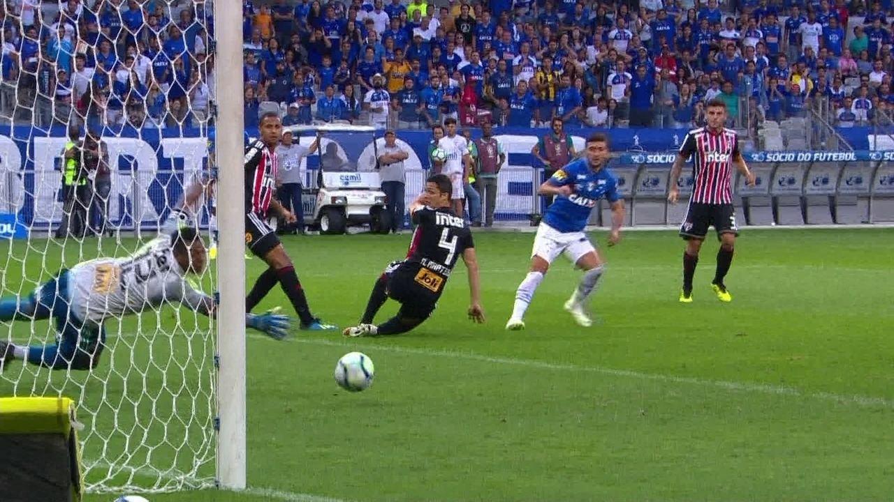 Melhores momentos de Cruzeiro 0 x 2 São Paulo pela 16ª rodada do Campeonato  Brasileiro 7b57a8af9974c