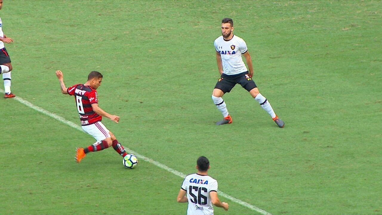 2526cc500c Melhores momentos de Flamengo 4 x 1 Sport pela 16ª rodada do Brasileirão