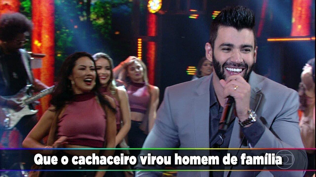 Gusttavo Lima canta 'Homem de Família'