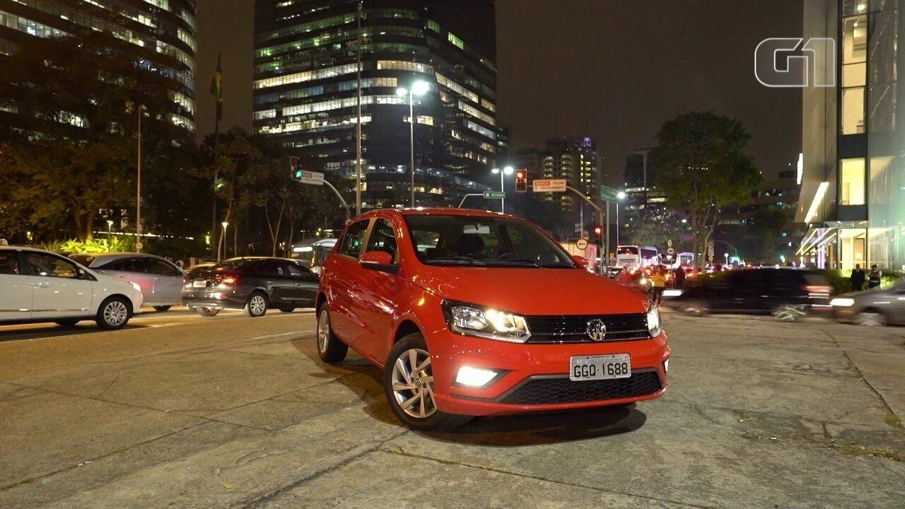G1 andou no Volkswagen Gol automático