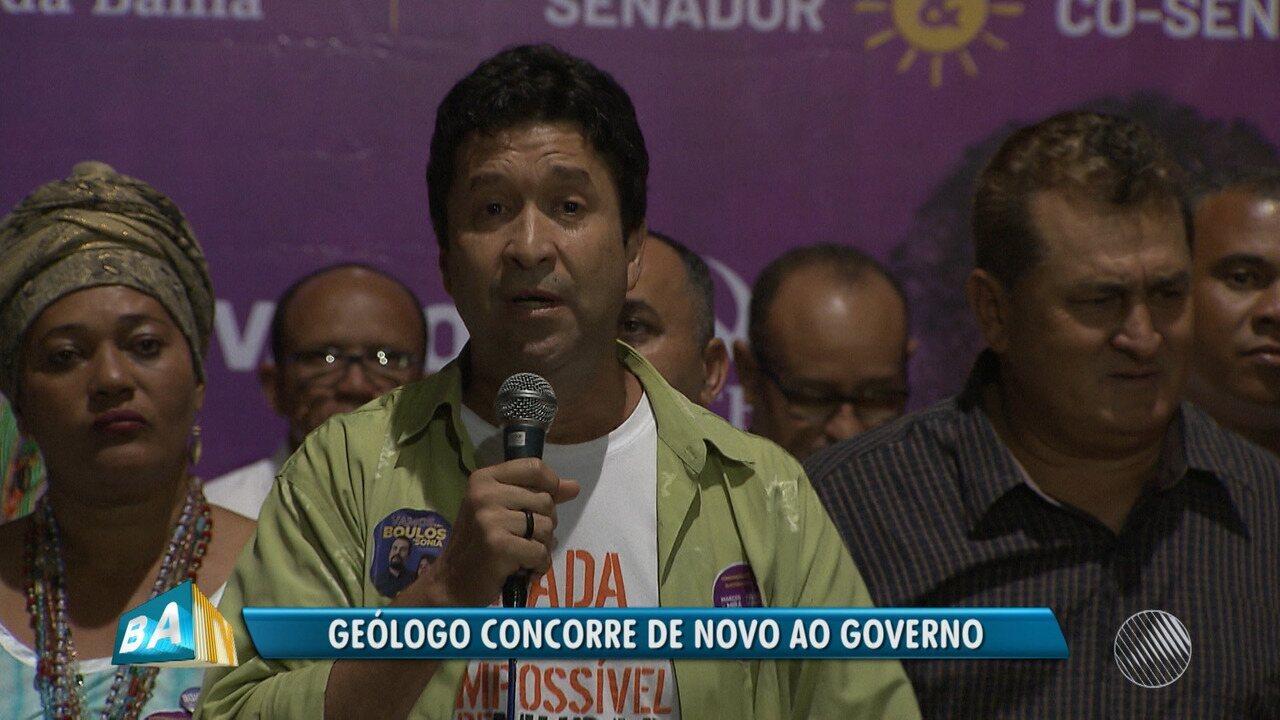 PSOL lança o geólogo Marcos Mendes como candidato ao governo nas eleições 2018