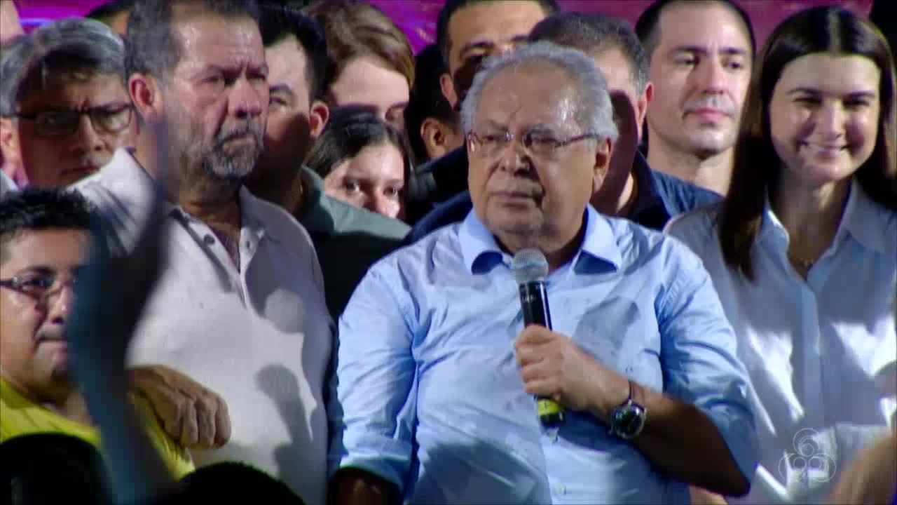 Amazonino Mendes anuncia candidatura à reeleição no AM