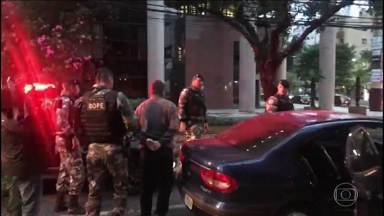 VÍDEO: Operação prende oito funcionários de distribuidoras de combustíveis no Paraná