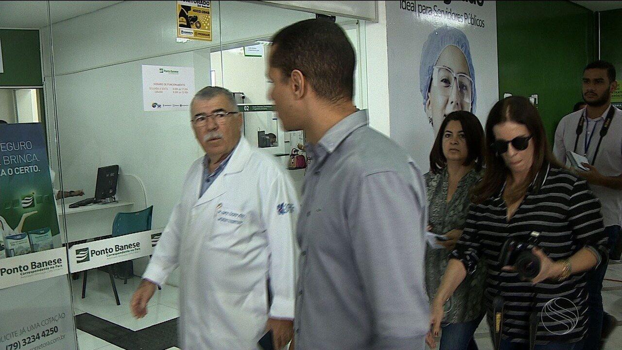 Ministério Público Estadual faz inspeção no Hospital de Urgência de Sergipe