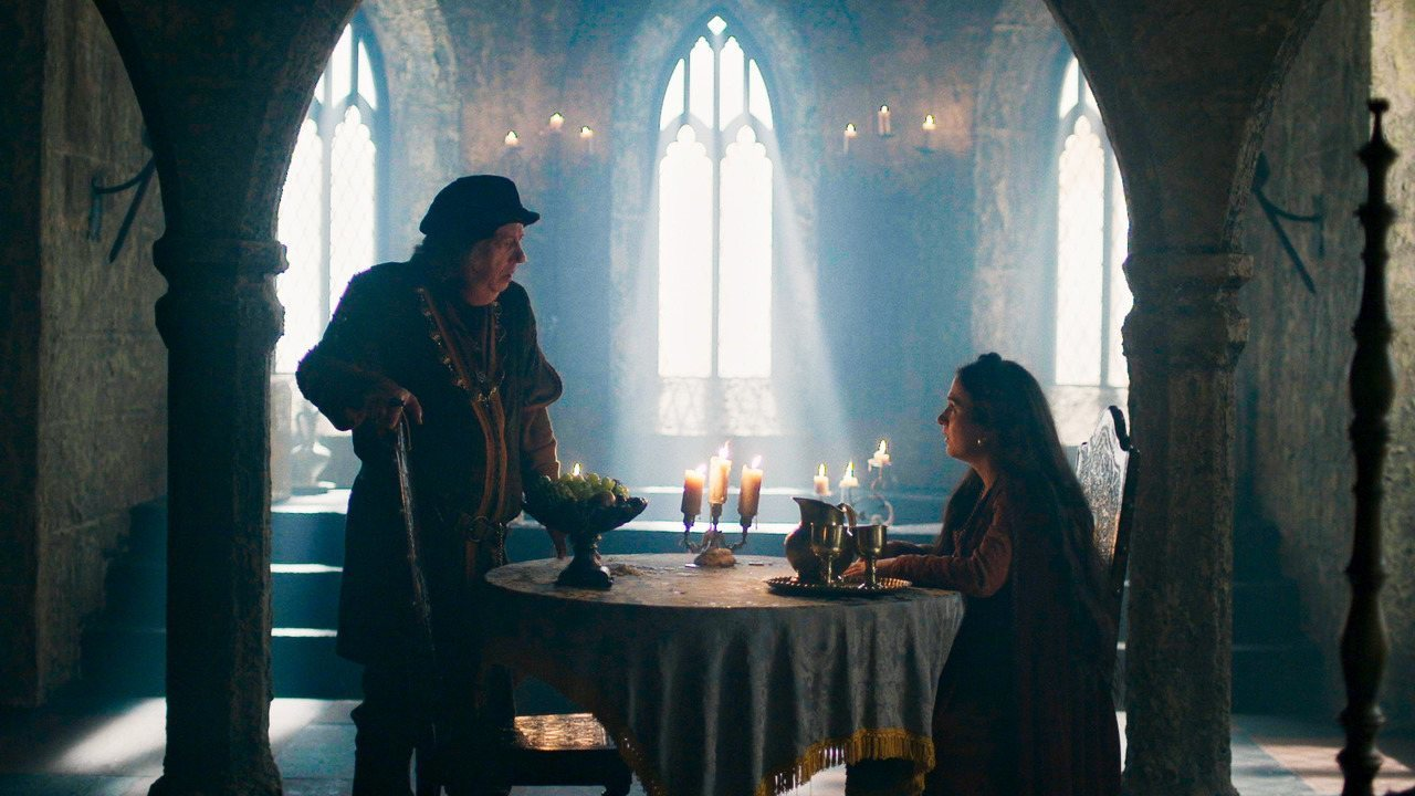 Cena exclusiva: Heráclito conta para Lucrécia que Catarina é uma plebeia