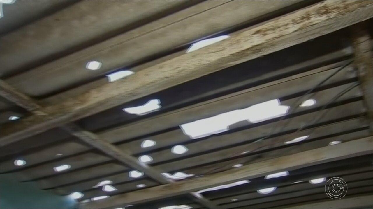 Chuva de granizo atinge região e deixa famílias desabrigadas em Nova Campina