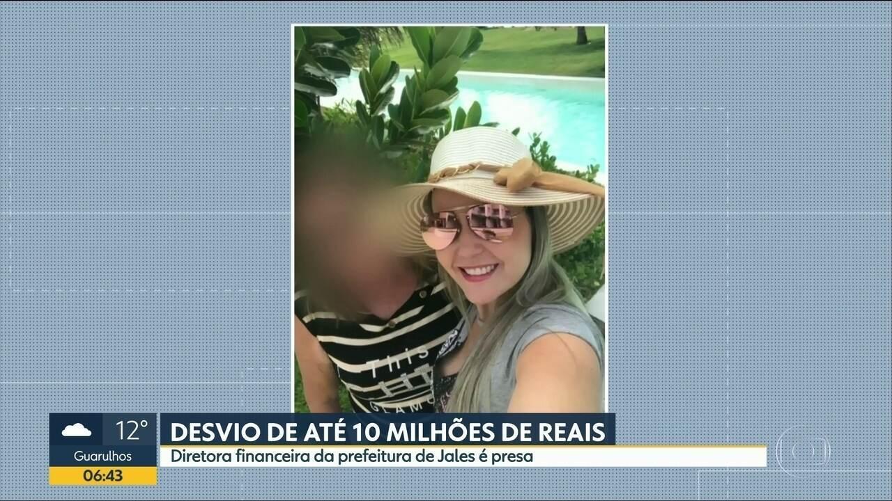 Diretora financeira de Prefeitura de Jales é presa suspeita de desviar mais de R$ 5 milhões