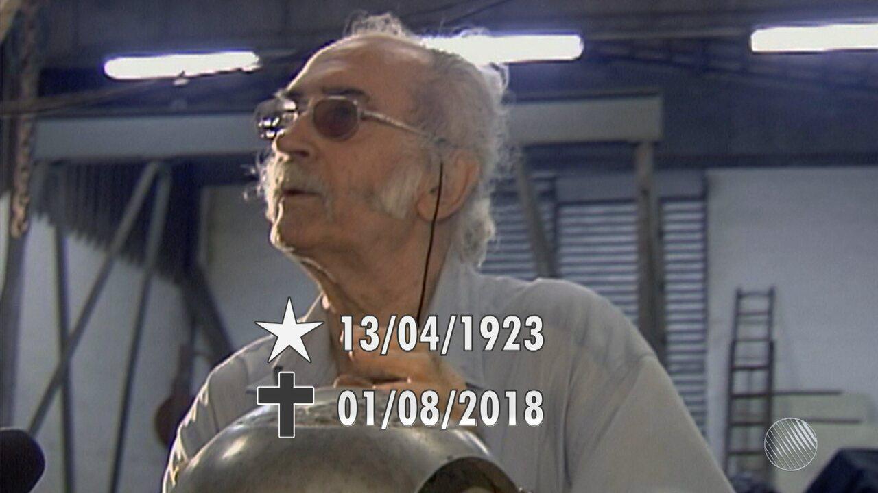 Morre artista plástico baiano Mário Cravo Júnior