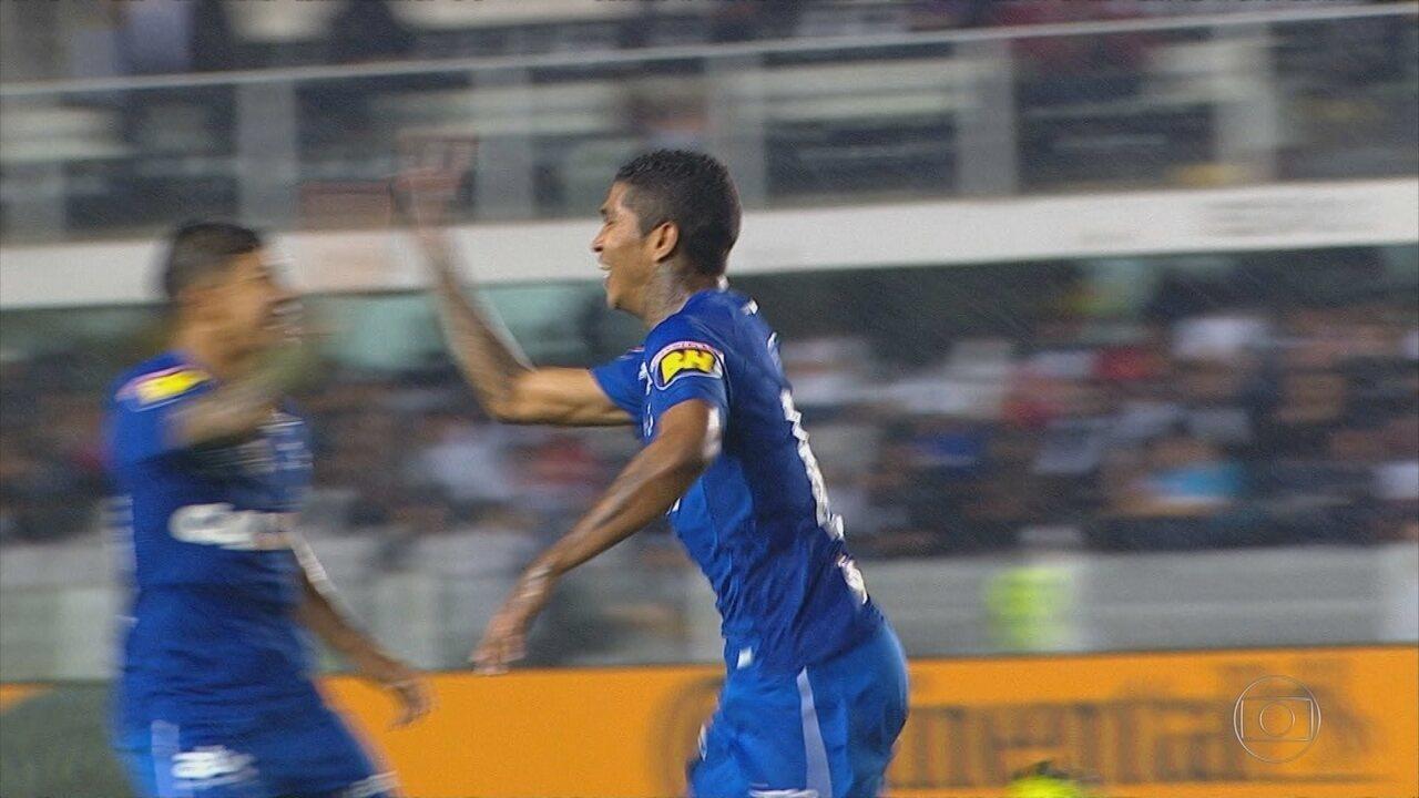 Pé quente, Raniel sai do banco de reservas para decider mais um jogo a favor do Cruzeiro