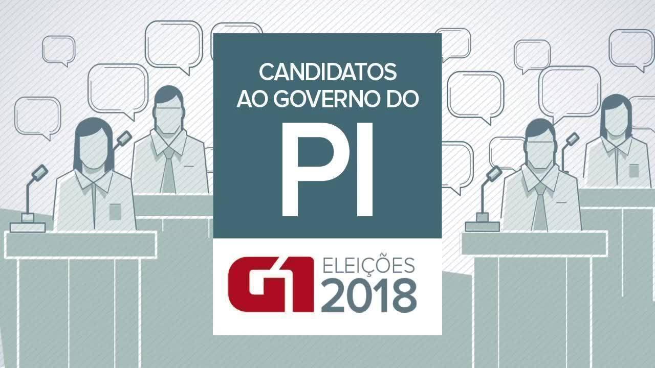 Conheça os candidatos ao Governo do Piauí