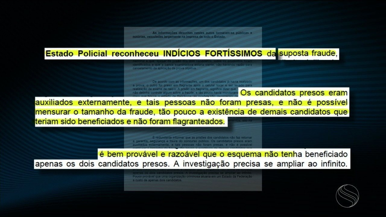 Justiça determina suspensão de concurso da Polícia Militar de Sergipe