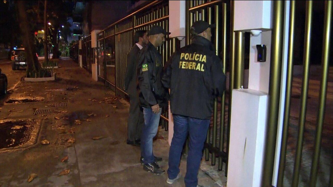 Banqueiro é preso durante Operação Lava Jato no Rio de Janeiro