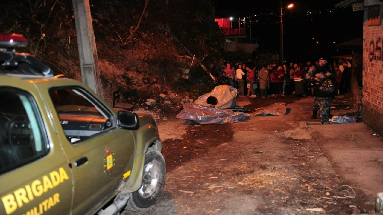 Seis pessoas são encontradas mortas a tiros em Caxias do Sul na noite desta quinta (2)