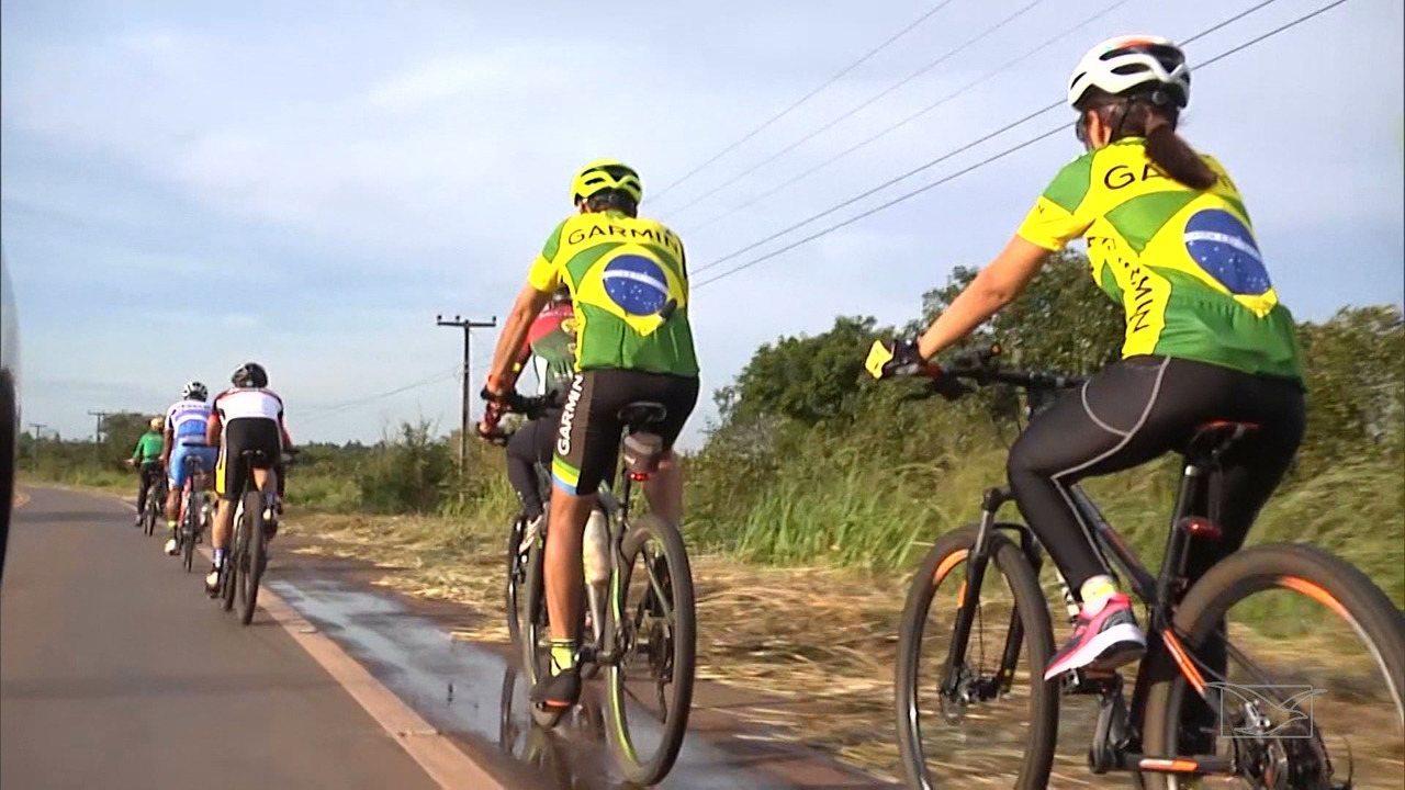 A força do ciclismo no cerrado maranhense