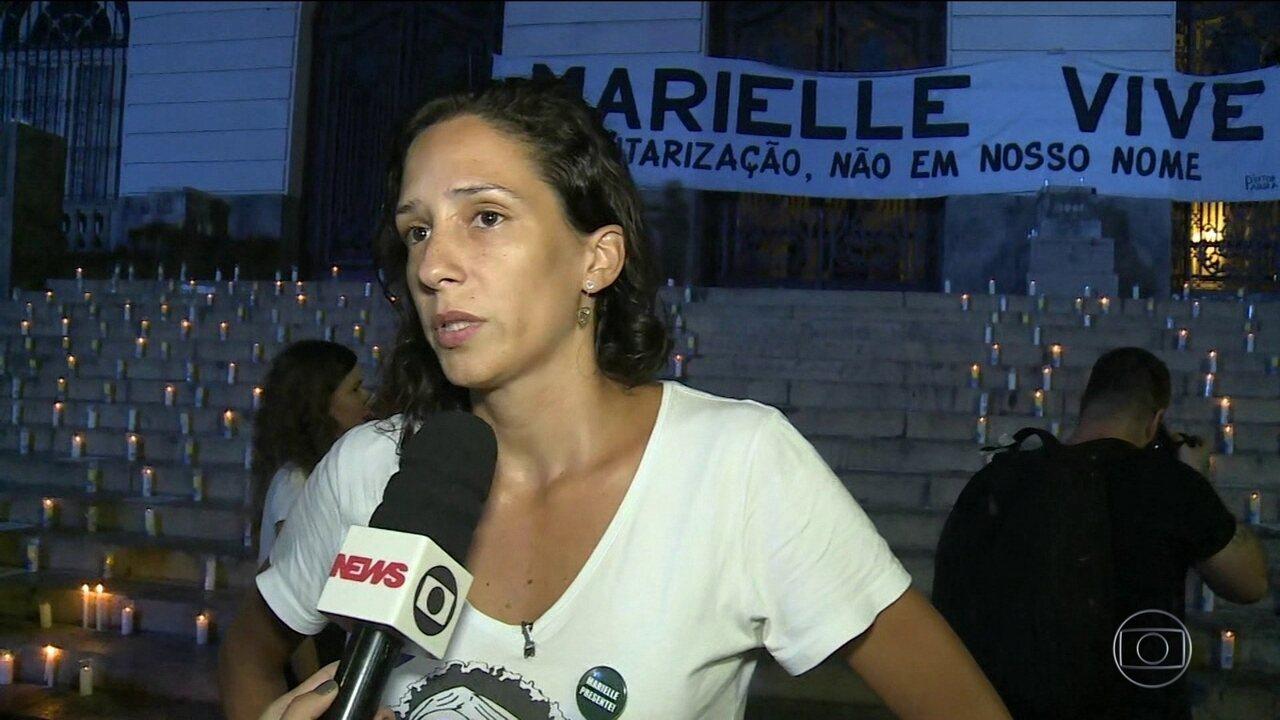 Viúva de Marielle Franco pede proteção internacional