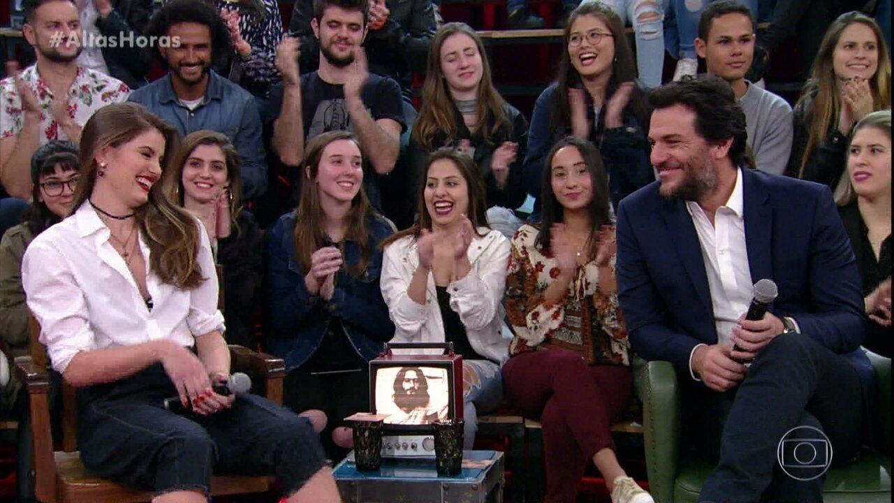Camila Queiroz e Rodrigo Lombardi falam sobre parceria em 'Verdades Secretas'