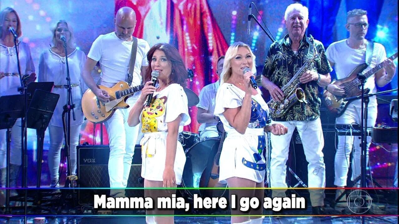 Abba – The Show canta 'Mamma Mia'