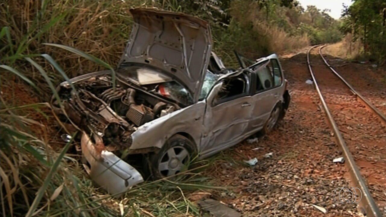 Bebê de 3 meses morre em acidente em Valparaíso de Goiás
