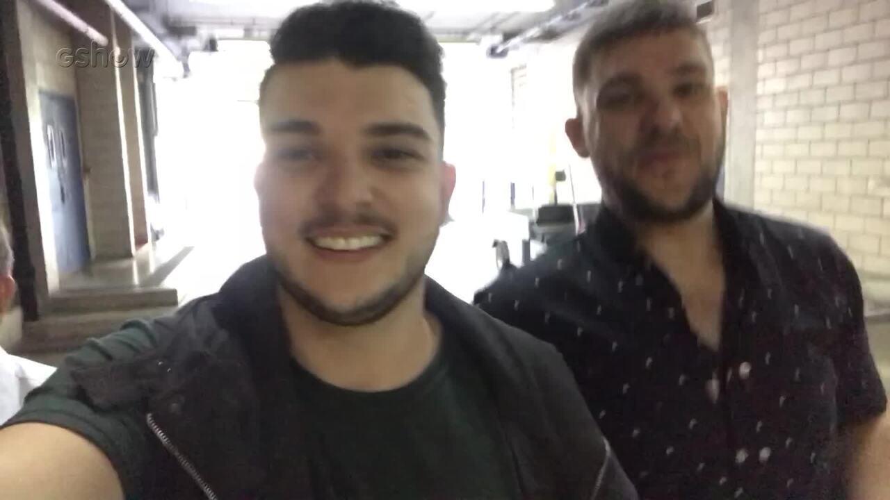 Confira a reação de Marcio e Douglas após a aprovação na 'Audição às Cegas'
