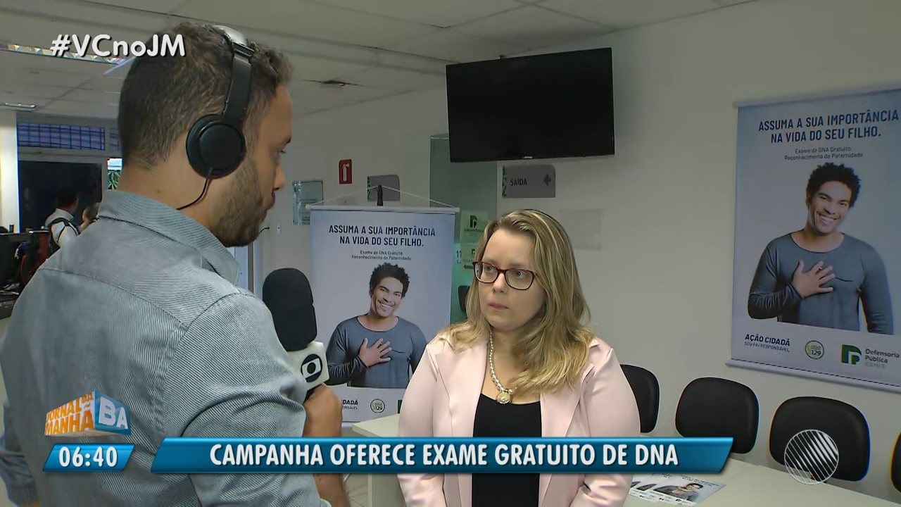 DNA gratuito: Defensoria Pública promove mutirão de reconhecimento de paternidade