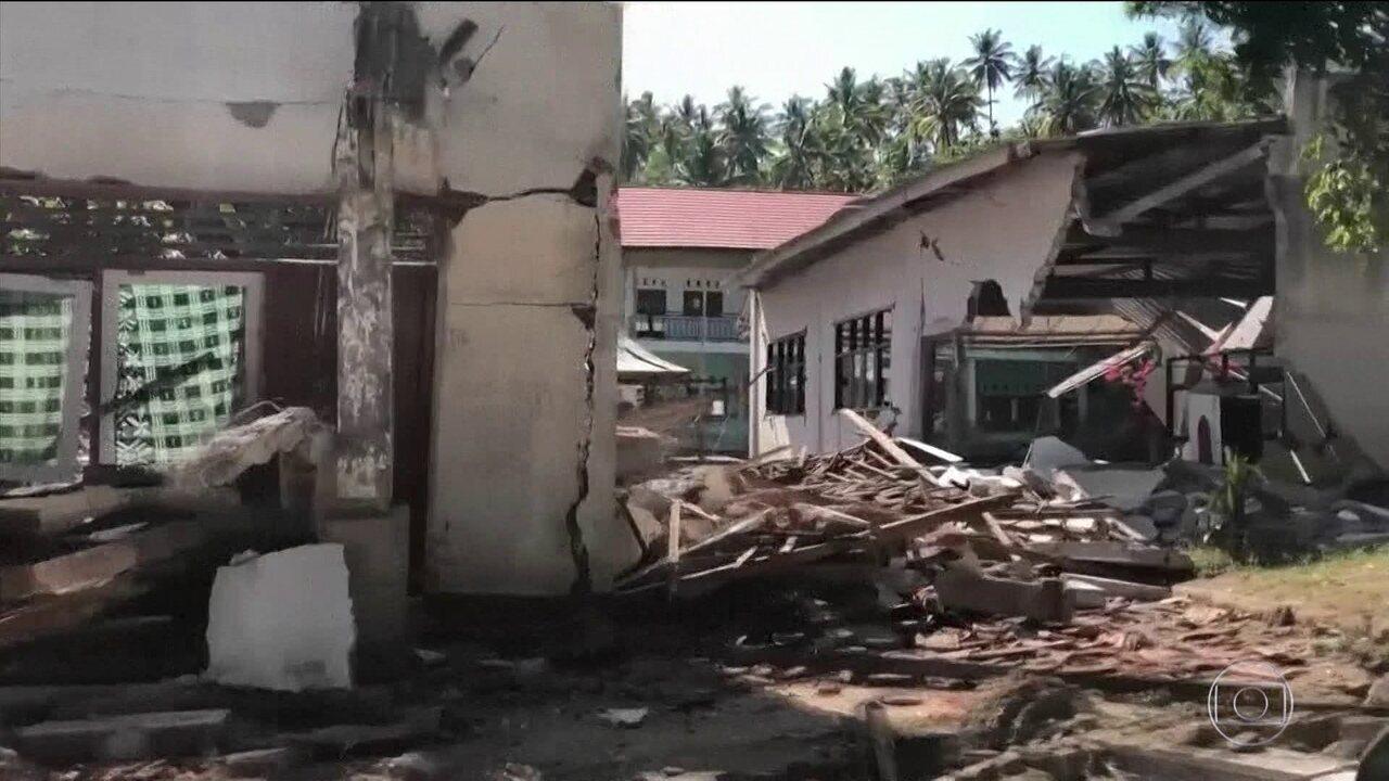 Indonésia é atingida pelo terceiro terremoto em duas semanas