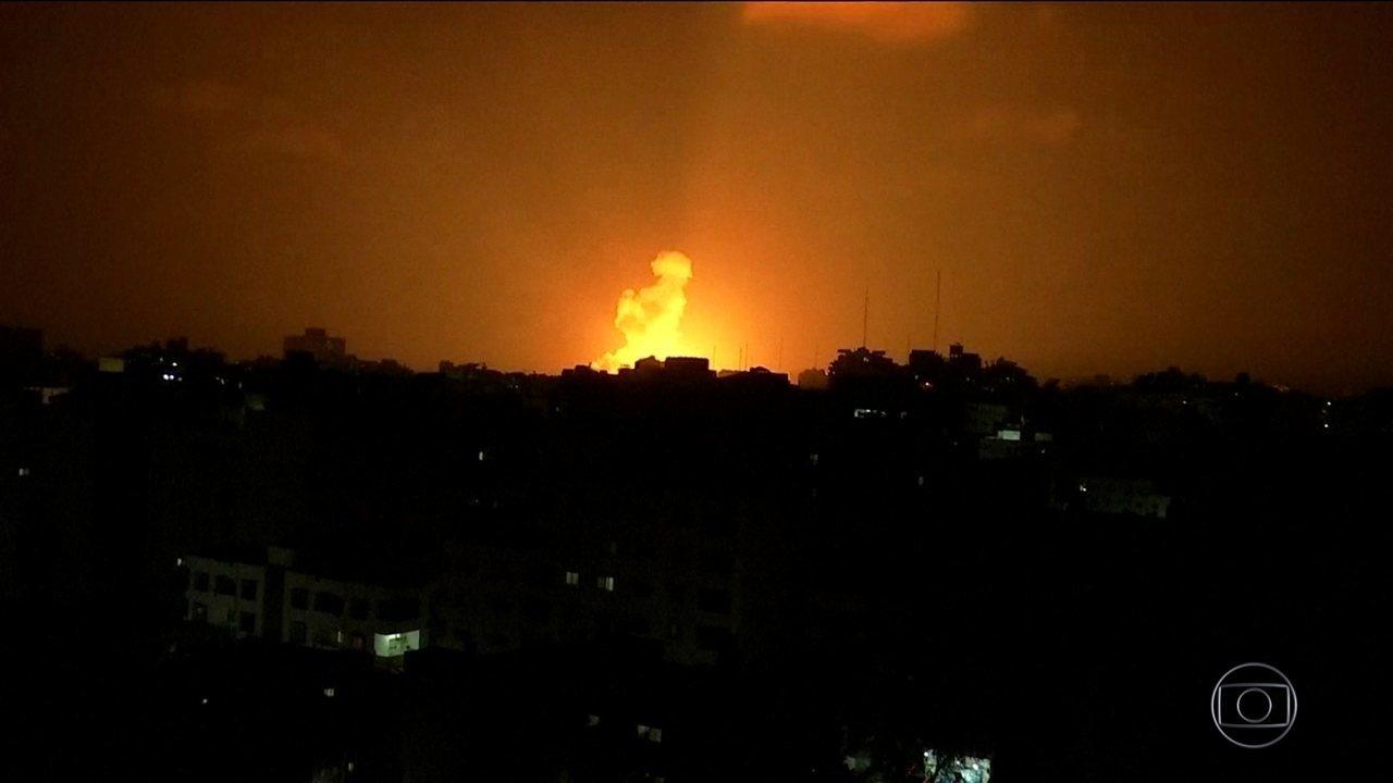 Tensão volta a crescer na fronteira entre Israel e Gaza