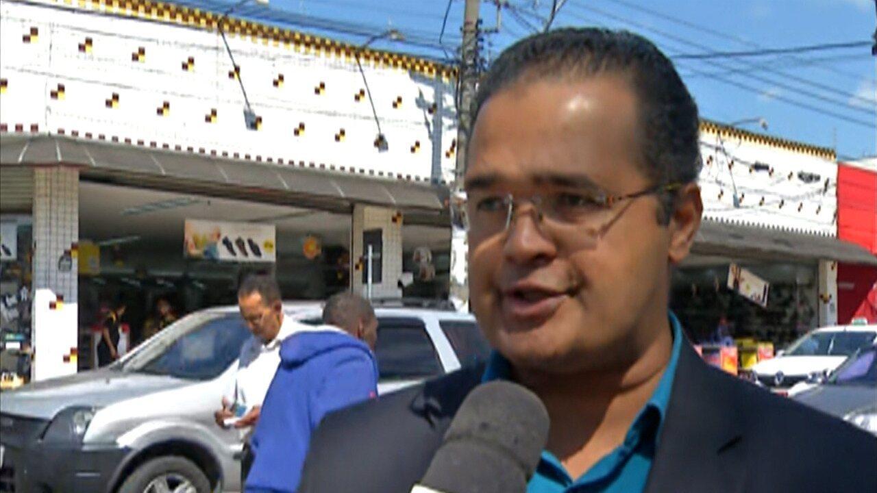 Cerca de 480 vagas na área central de Ferraz de Vasconcelos podem reservadas por celular