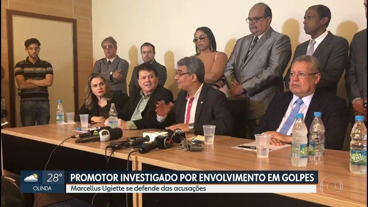 Promotor afastado por corrupção fala sobre investigações da Operação Ponto Cego