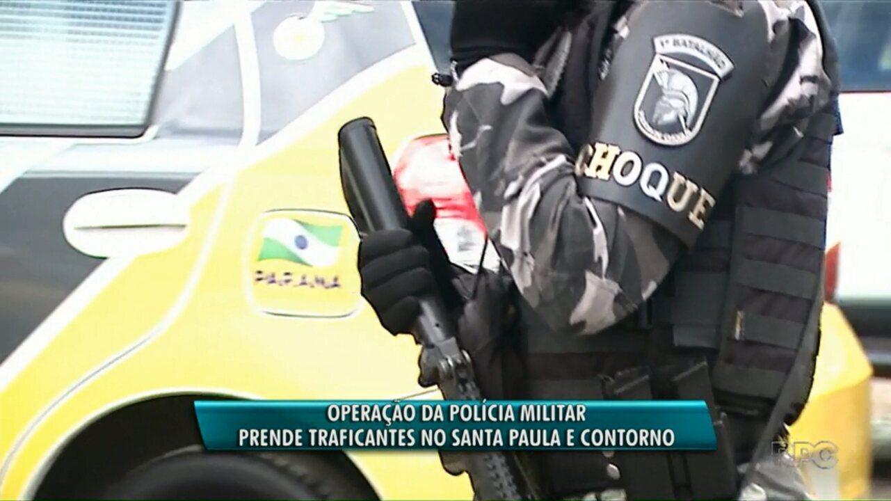 Operação da Polícia Militar e Ministério Público prende traficantes em Ponta Grossa