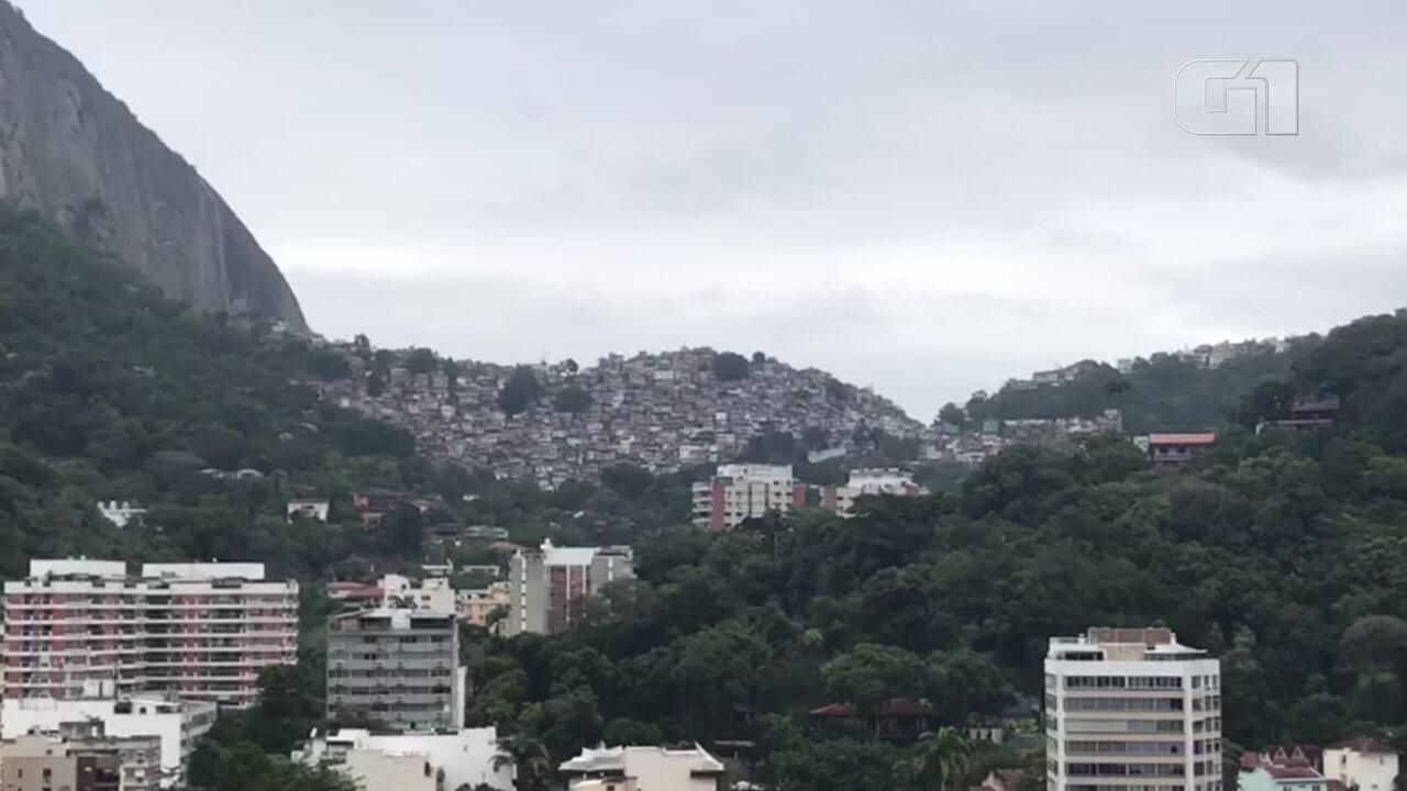 Muitos tiros são ouvidos na Rocinha na manhã desta sexta-feira (10)