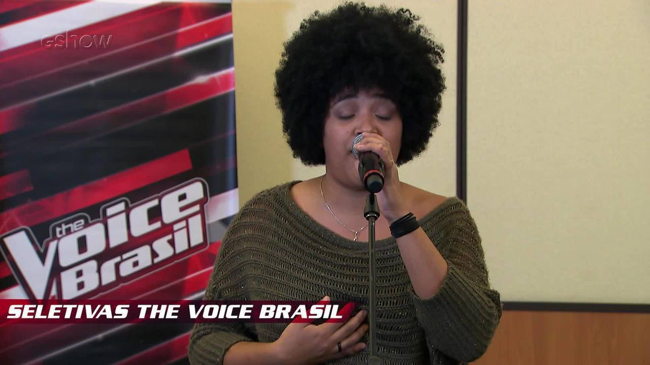 Confira vídeo exclusivo de Tamires Braga na seletiva do The Voice Brasil