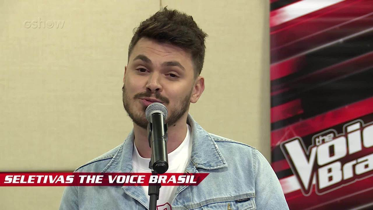 Confira vídeo exclusivo de Cadu Duarte na seletiva do The Voice Brasil
