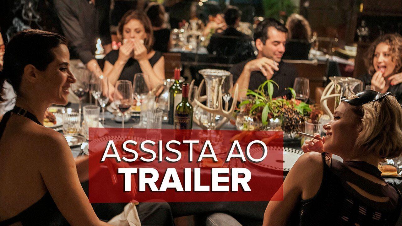 'O Banquete': Assista ao TRAILER
