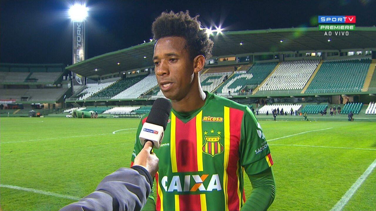 Rogério comemora empate fora de casa e ponto somado pelo Sampaio