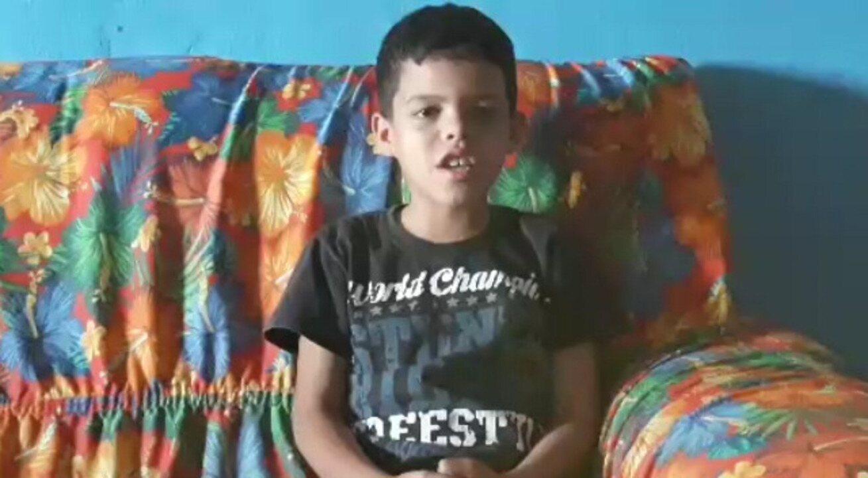 Criança faz música em homenagem ao pai morto na PB: 'Ninguém aguenta essa dor'