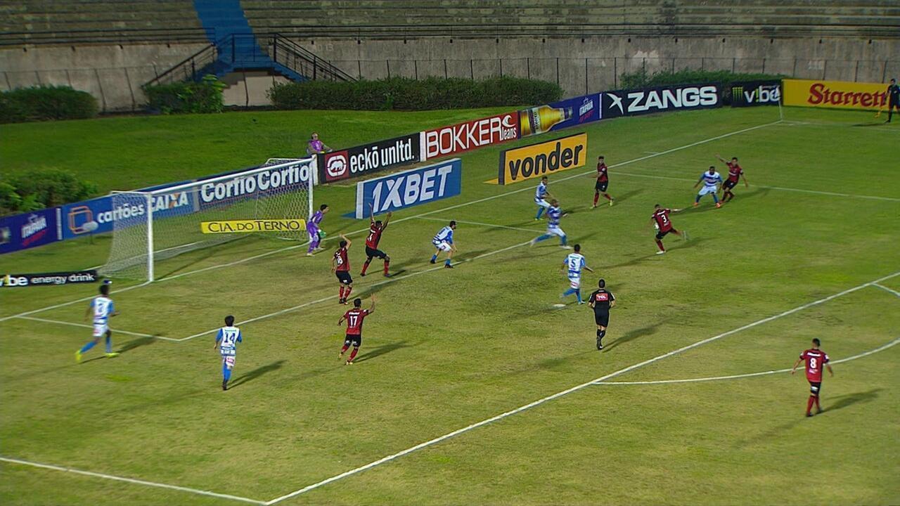 Gol do Brasil de Pelotas! Leandro Camilo deixa tudo igual aos 39 do 2º tempo