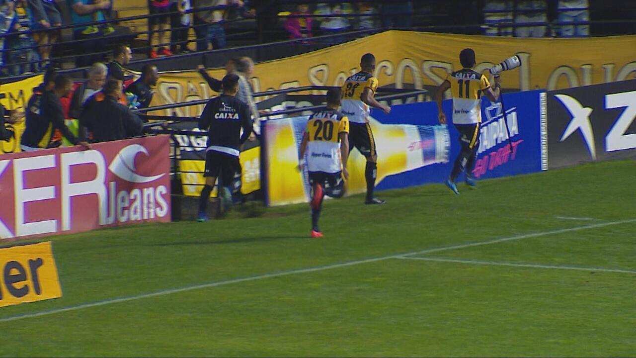 Confira os melhores momentos do empate entre Criciúma e Atlético-GO