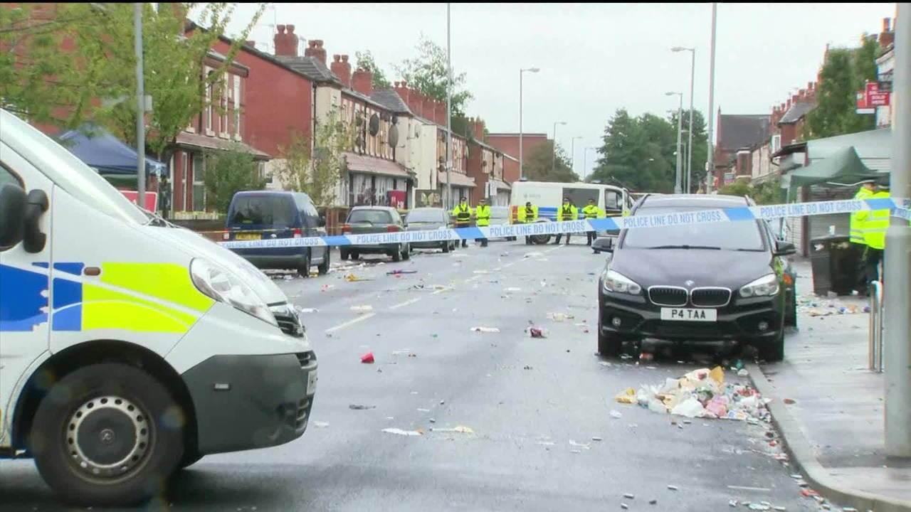 Tiros durante festival de rua deixam 10 feridos em Manchester, na Inglaterra