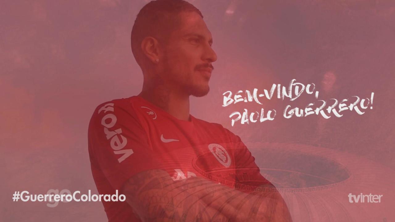 Guerrero concede entrevista para a TV Inter
