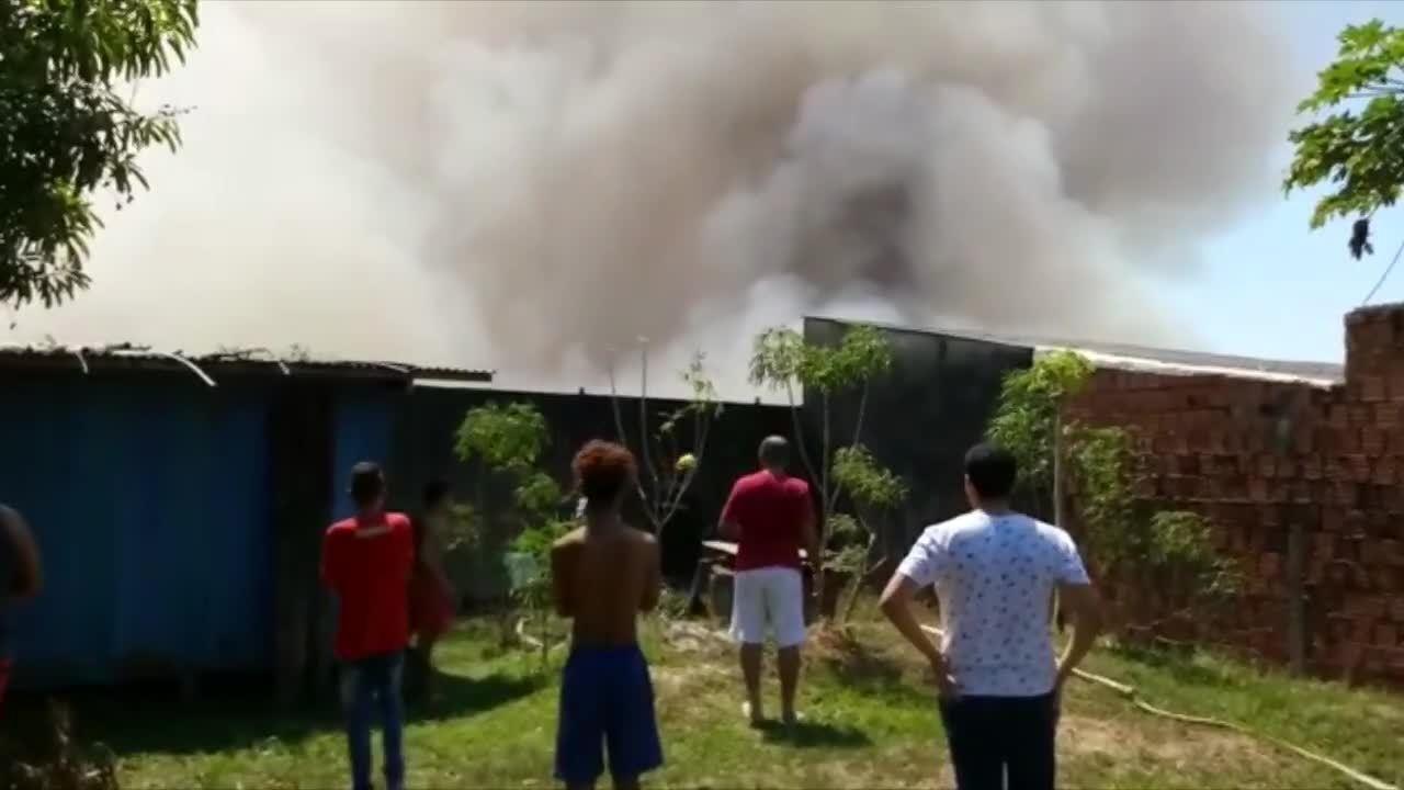 Incêndio atinge área de vegetação com mais de 30 mil m² em Rio Branco
