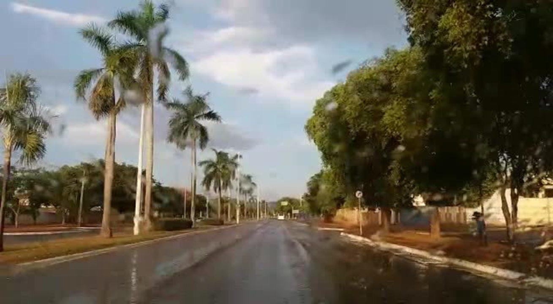 Chuva é registrada em Palmas após 110 dias de estiagem