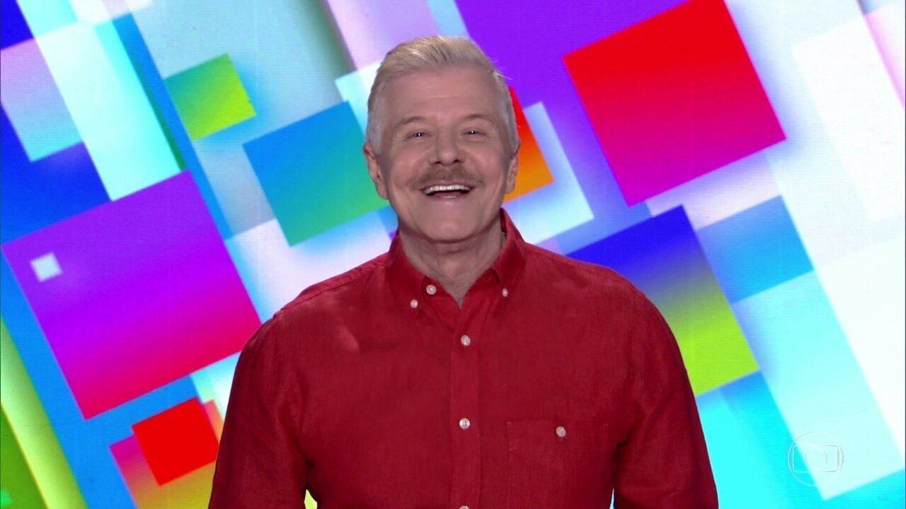 Vídeo Show Miguel Falabella Encerra O Vídeo Show Com Uma Frase