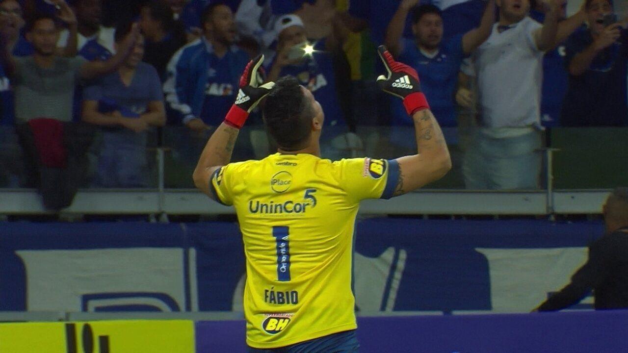 Veja os melhores momentos de Cruzeiro 1 (3) x (0) 2 Santos pela Copa do Brasil